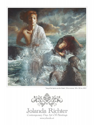 Fine Art Print On Paper 'Song of the Spirits over the Waters'