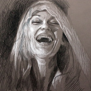 Emotions 2, Pencils on colored paper, 29 x 29 cm, 2016