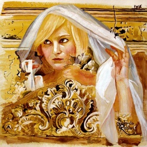 L'immortalité de l'âme 4, Gouache on paper, 30 x 40 cm, 2012