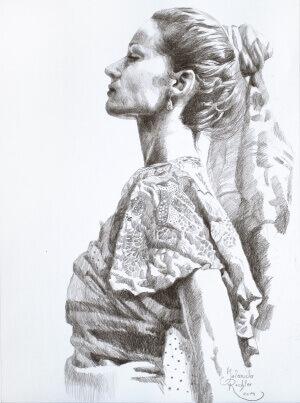Zeit:los, Drawing, 30 x 40 cm, 2014