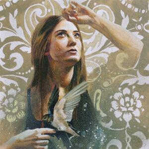 Und die Sehnsucht ist ihr Sinn, Gouache on paper, 29 x 29 cm, 2019