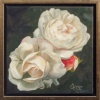 Winchester Cathedral Rose | Oil on canvas | Öl auf Leinwand
