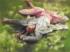 'Springtime' | Aquarell auf Papier