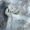Oil on alu-dibond 'Stillness 4' artwork