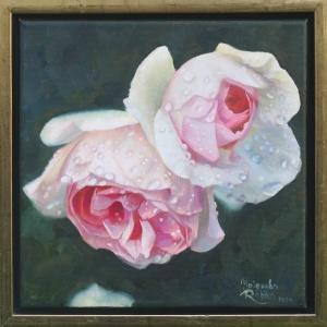 'Eden Rose' | Öl auf Leinwand