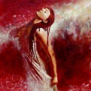'Stärke die in mir erwacht' | Stärke die in mir erwacht' | Öl auf Leinwand | Oil on canvas