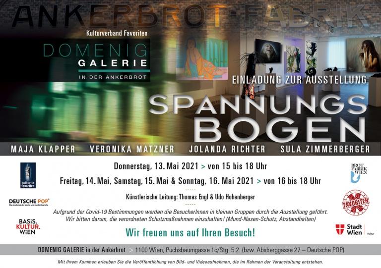"""Einladung """"SPANNUNGS BOGEN"""""""